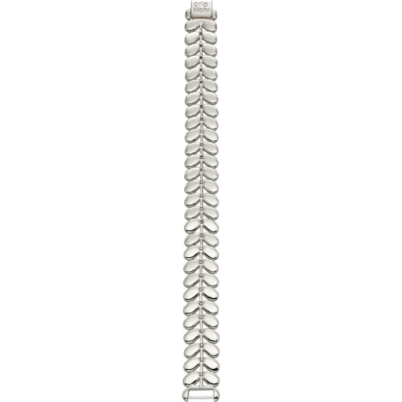 Orla Kiely B4791 Ladies Buddy Silver Stem Bracelet