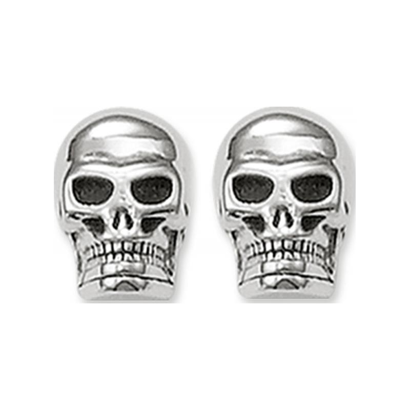 Thomas Sabo H1731-001-12 Pendientes de plata stud cráneo