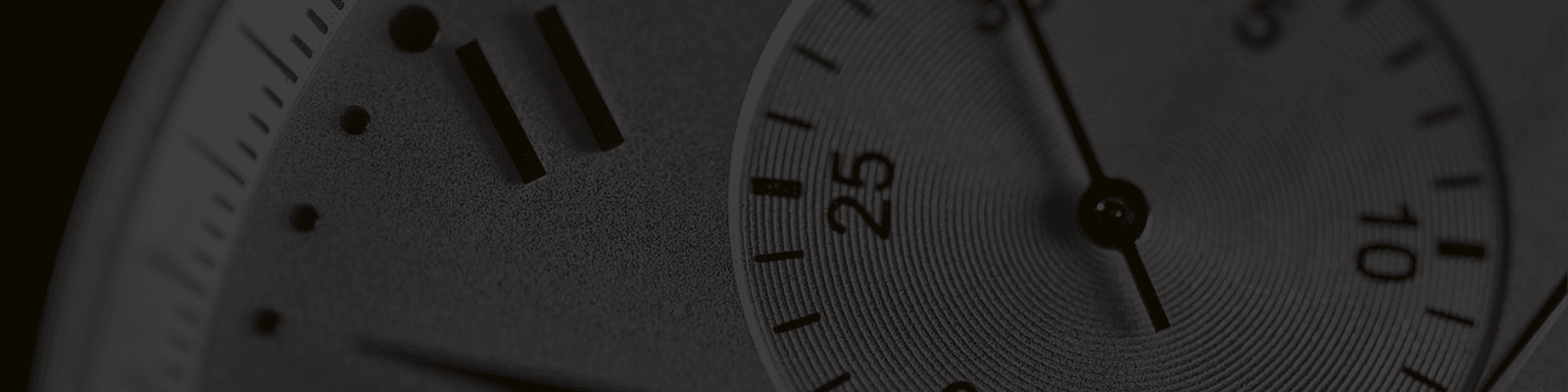 Warranty Infomation banner, close up of watch