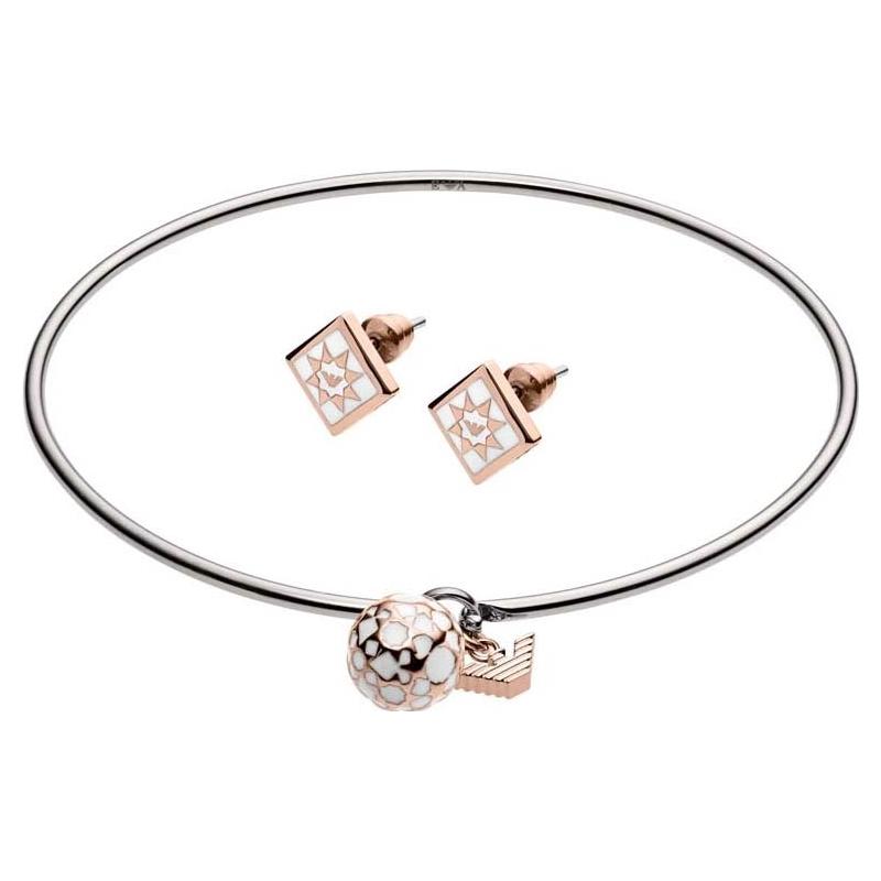 Emporio Armani EGS2486040 Conjunto de gif de pulseira de senhoras