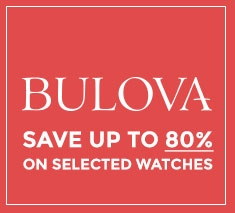 Bulova Special up to 80% Off