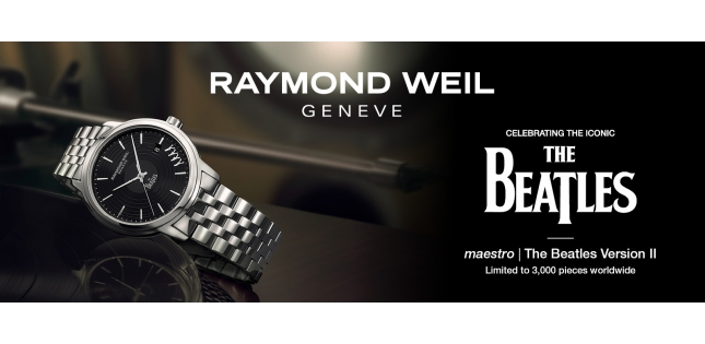 Here comes the sun - and the new Beatles watch from Raymond Weil