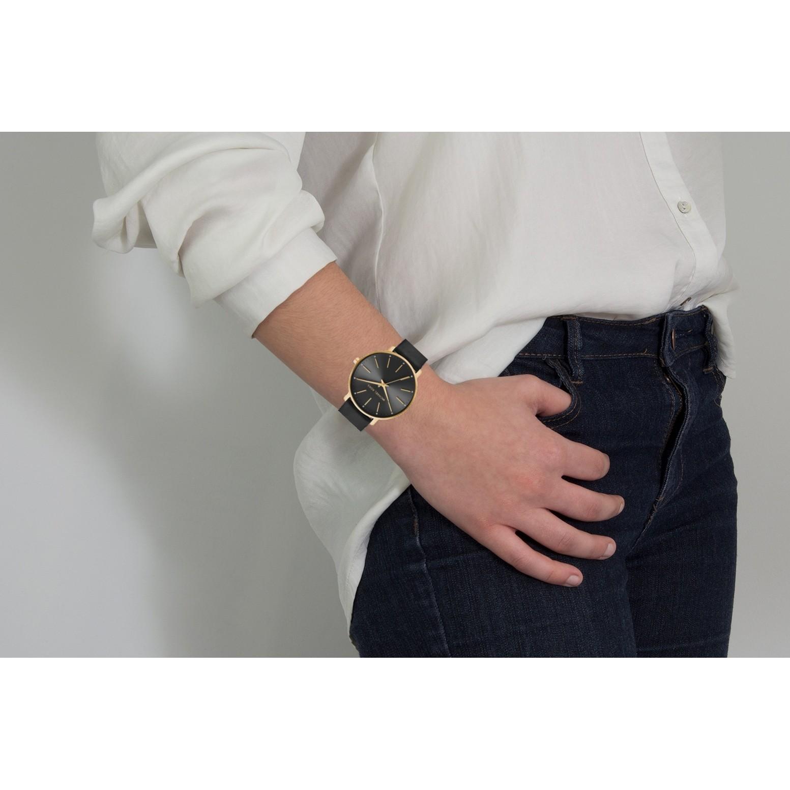769c0fa67333 Black Leather MK2747 Michael Kors Watch