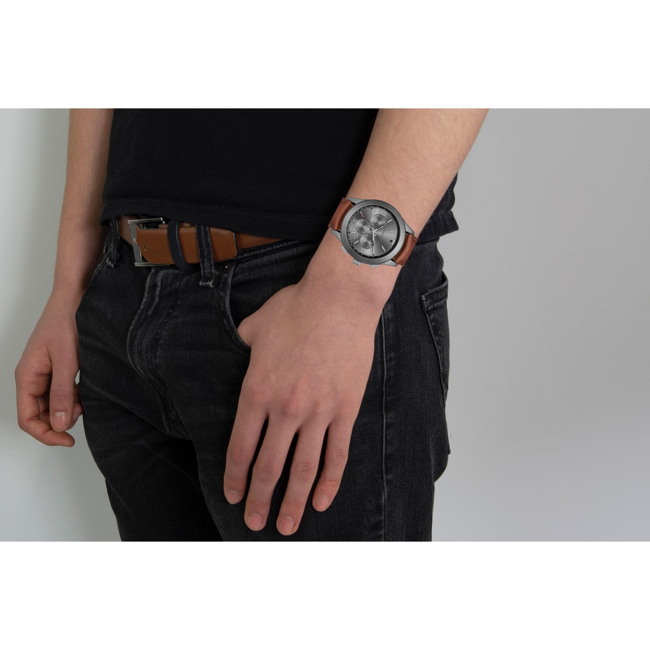 b9cb1759c420 Brown Leather MK8471 Michael Kors Watch
