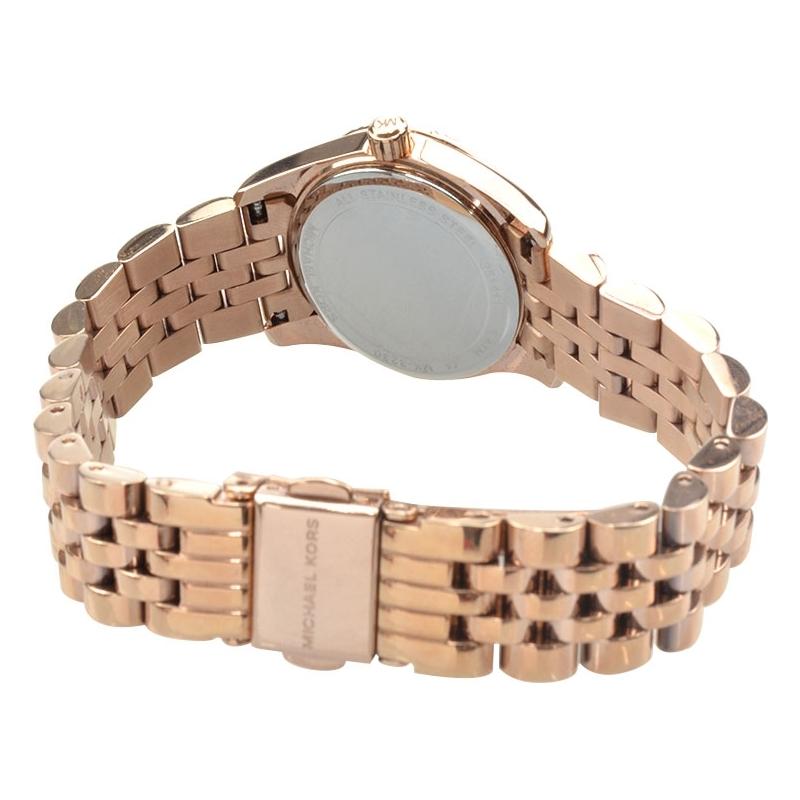 7ab61f5d64ce MK3230 - Michael Kors Ladies Lexington Rose Gold Plated Bracelet Watch
