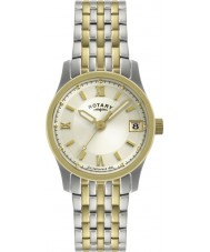 Rotary LB00793-09 Ladies Timepieces Two Tone Watch