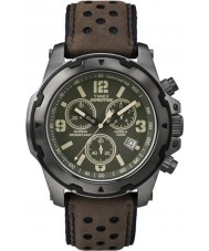 Timex TW4B01600 Mens Expedition Analog Shock Brown Chrono Watch