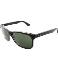 RayBan RB4181 57 Highstreet Top Matte Black On Trasp Grey 6130 Sunglasses