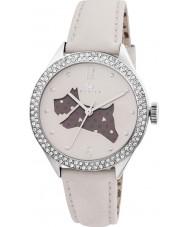 Radley RY2205 Ladies Cream Leather Strap Watch with Stones