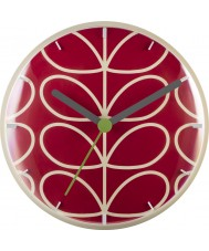 Orla Kiely OK-WCLOCK04 Linear Stem Clock