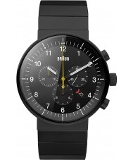 Braun BN0095BKBKBTG Mens Prestige Black Chronograph Watch