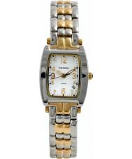 Krug Baümen 1963KL-T Ladies Tuxedo Silver Gold Watch