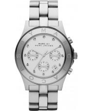 Marc Jacobs MBM3100 Ladies Blade Silver Chronograph Watch