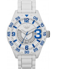 Adidas ADH3012 Mens Newburgh White Rubber Strap Watch