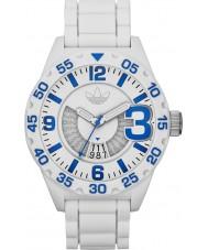 Adidas ADH3012 Mens Newburgh White Rubber Strap Watch
