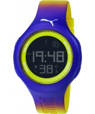 Puma PU910801032 Loop L Purple Silicone Strap Chronograph Watch