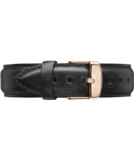 Daniel Wellington DW00200084 Dapper 19mm Sheffield Rose Gold Spare Strap