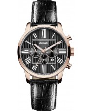 Ingersoll IN1409RBK Mens Painte Automatic Black Chronograph Watch