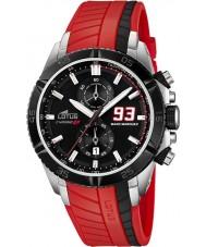 Lotus Mens Marc Marquez Chrono GP Black Red Watch