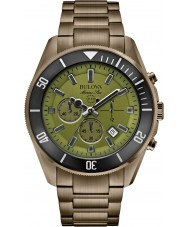 Bulova 98B206 Mens Marine Star Grey Chronograph Watch
