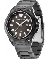 Police 13939JSB-61 Mens Protector Grey Plastic Strap Watch