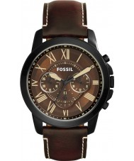 Fossil FS5088 Mens Grant Dark Brown Chronograph Watch