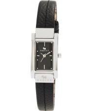Radley RY2023 Ladies Stitched Black Leather Strap Watch