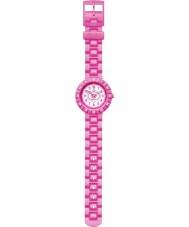 Flik Flak FCSP012 Girls Pink Summer Breeze White Watch