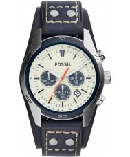 Fossil CH3051 Mens Coachman Blue Leather Chronograph Watch