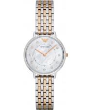 Emporio Armani Ladies Dress Two Tone Steel Bracelet Watch