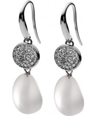 Skagen SKJ0121040 Ladies Pearl Drop Earrings