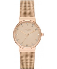 Skagen SKW2197 Ladies Ancher Rose Gold Tone Mesh Strap Watch