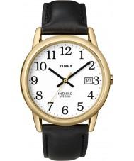 Timex T2H291 Mens White Black Easy Reader Watch