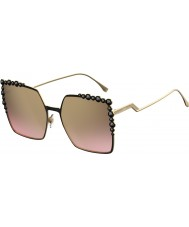 Fendi Ladies FF 0259-S 2O5 53 Sunglasses