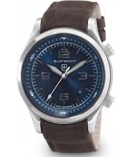 Elliot Brown 202-007-L07 Mens Canford Brown Leather Strap Watch