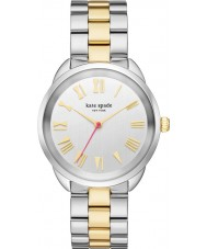 Kate Spade New York KSW1062 Ladies Crosstown Two Tone Steel Bracelet Watch