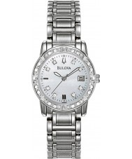 Bulova 96W105 Ladies Diamond Silver Steel Bracelet Watch