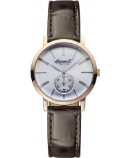 Ingersoll INQ025WHRS Mens Springfield White Brown Watch