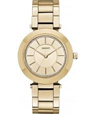 DKNY Ladies Stanhope Gold Plated Bracelet Watch