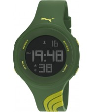 Puma PU911091007 Twist L Two Tone Silicone Strap Watch
