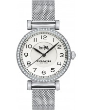 Coach 14502651 Ladies Madison Silver Steel Mesh Bracelet Watch