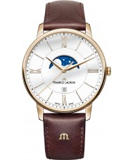 Maurice Lacroix EL1108-PVP01-112-1 Mens Eliros Brown Leather Strap Watch