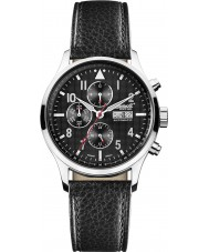 Ingersoll IN1412GY Mens Chumash Automatic Black Chronograph Watch
