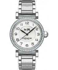 Coach 14502396 Ladies Madison Fashion Silver Steel Bracelet Watch