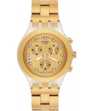 Swatch SVCK4032G Irony - Full-Blooded Gold Watch