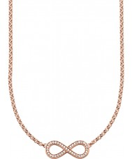 Thomas Sabo KE1312-416-14 Ladies 18k Rose Gold Plated Infinity Necklace