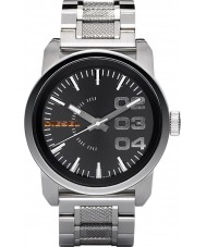 Diesel DZ1370 Mens Double Down Black Steel Watch