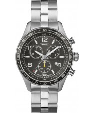 Timex T2P041 Mens Black Silver Kaleidoscope Chronograph Watch