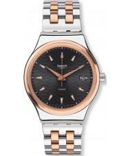 Swatch YIS405G Sistem Tux Two Tone Steel Bracelet Watch