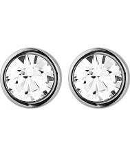 Dyrberg Kern 318059 Ladies Noble Shiny Silver Crystal Earrings